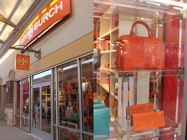 Tory Burch no Houston Premium Outlets