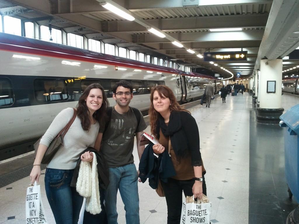 viajando com amigos