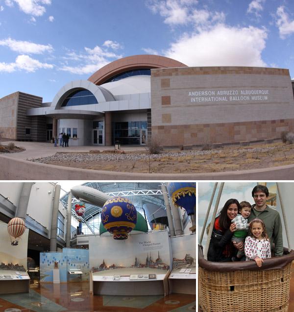 O Balloon Museum em Albuquerque, Novo México