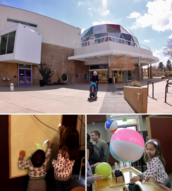 O ¡Explora! é um ótimo museu de ciências interativo para crianças em Albuquerque, Novo México