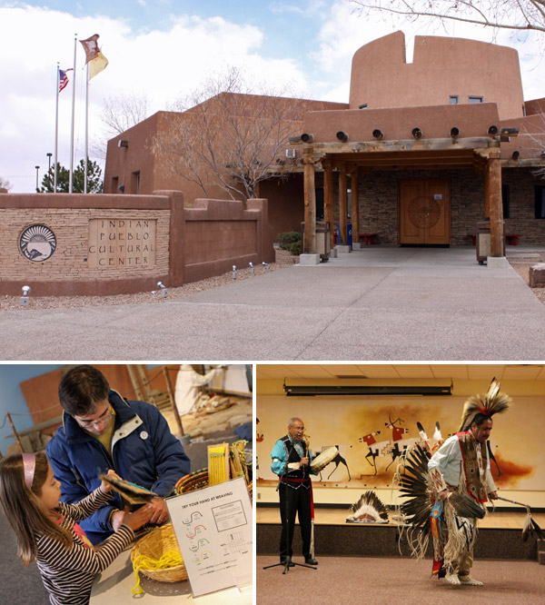 Indian Pueblo Cultural Center em Albuquerque, Novo México