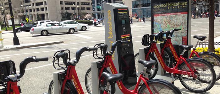 Aluguel de bicicletas em DC