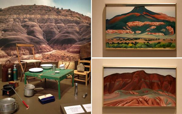 Georgia O'Keeffe Museum, em Santa Fé, Novo México