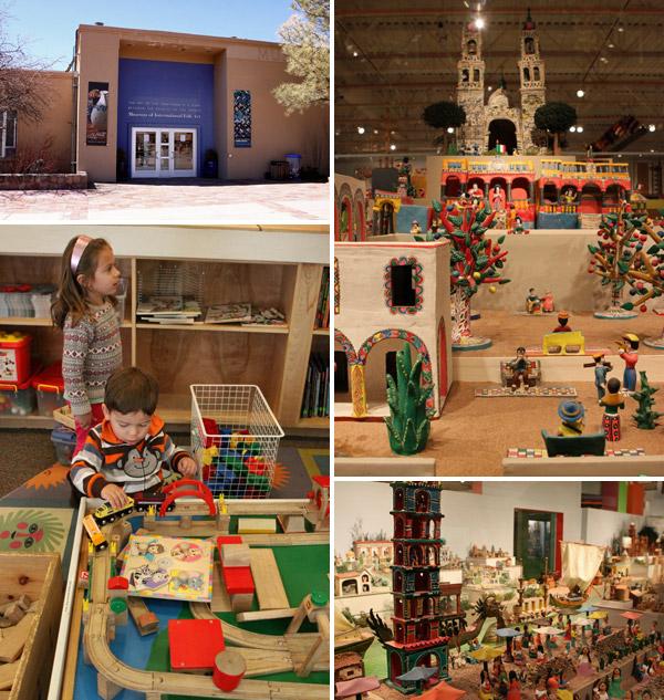 Adoramos o Museum of International Folk Art em Santa Fé, Novo México