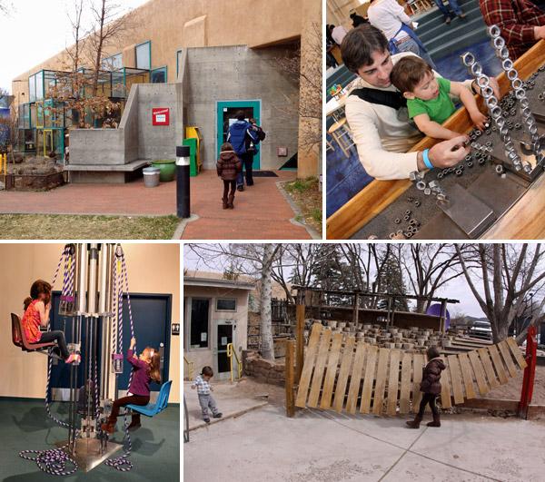 O Museu das Crianças em Santa Fé é pequeno mas muito legal