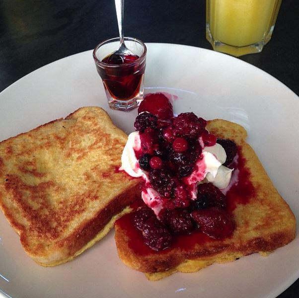 Parece sobremesa, mas é café da manhã