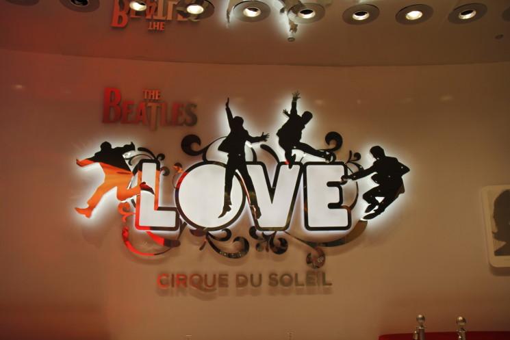 Beatles Love no Cirque du Soleil em Las Vegas -