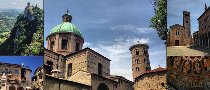 Direto da Emilia Romagna na Itália: Milano Marittima, Rimini e Ravenna