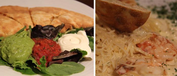 Os pratos que pedimos