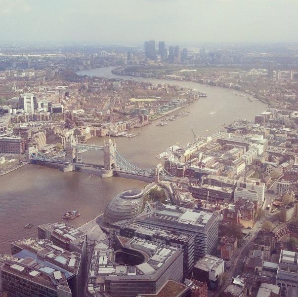 Londres no alto - The Shard