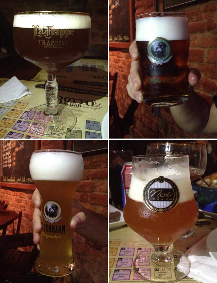 Cervejas que nos pedimos