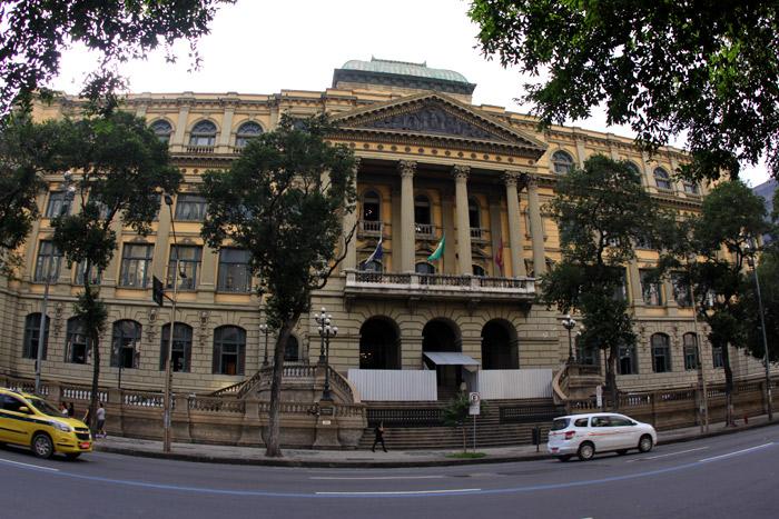 A Biblioteca Nacional no Rio de Janeiro