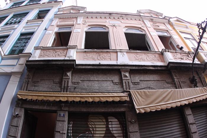 Casa da Carmen Miranda, na Travessa do Comércio # 13
