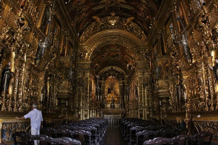A fantástica igreja barroca da Ordem Terceira de São Francisco da Penitência