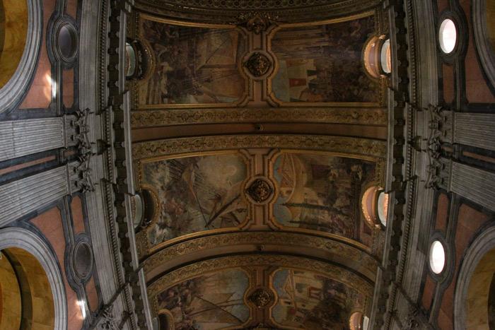 Teto da Igreja da Candelária