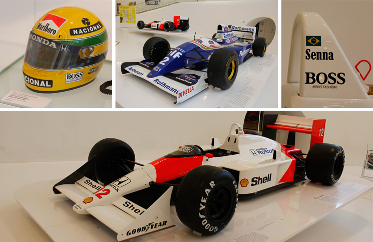 Os carros usados pelo Ayrton Senna