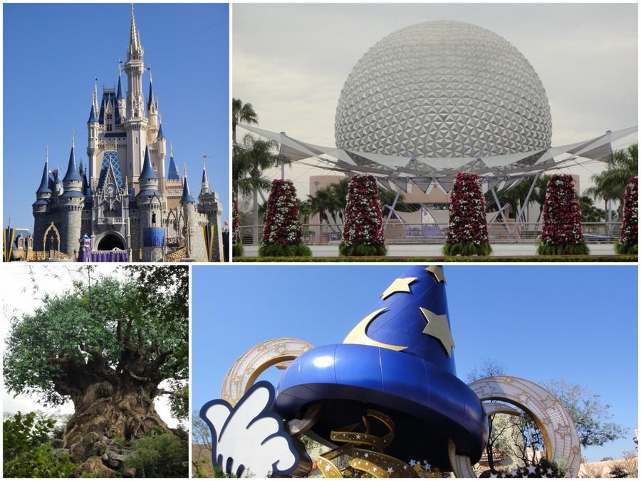 Os parques da Disney