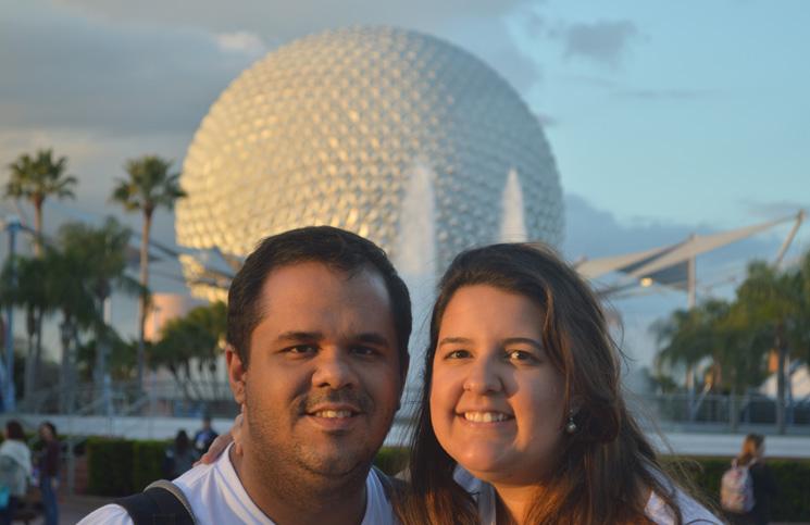 Rachel e o marido
