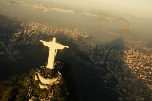 Vista espetacular do tour de helicóptero pelo Rio