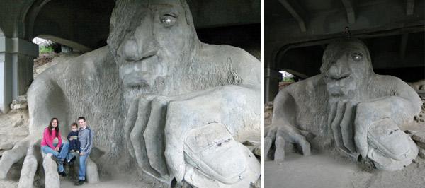 Fremont Troll, arte de rua no bairro de Fremont