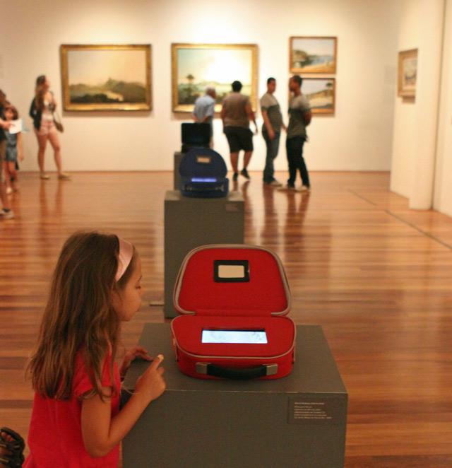 Julia no Museu de Arte do Rio - MAR