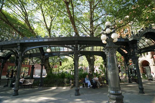 Pioneer Square, a mais antiga praça de Seattle