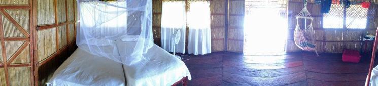 Outro lado da cabana