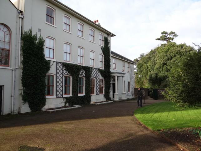 Casa onde viveu Charles Darwin