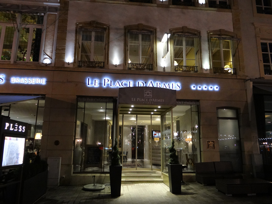 Luxemburgo: Hotel Le Place d'Armes -