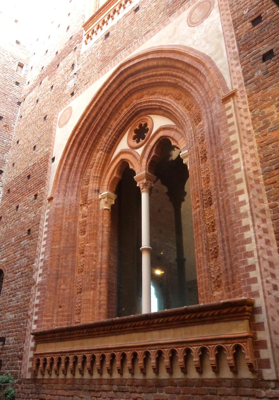 Detalhe do Castelo Sforzesco