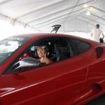 Dirigindo uma Ferrari em Las Vegas