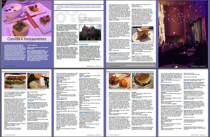 Dicas de restaurantes no Guia de Detroit