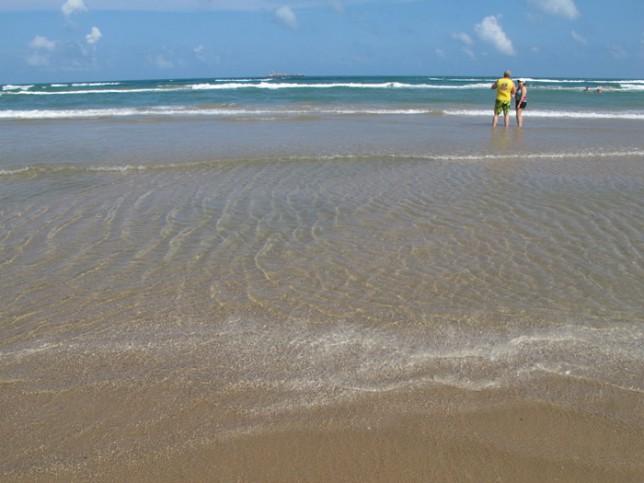 Água do Golfo do México, sempre na temperatura perfeita