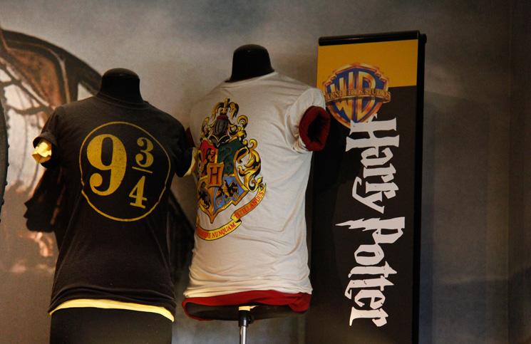 Camisas do Harry Potter