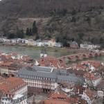 Um dia em Heidelberg na Alemanha