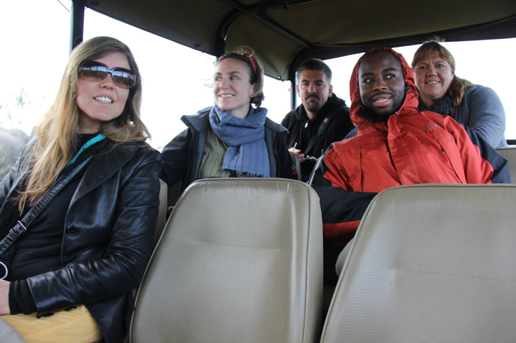 Nosso grupo no Safari