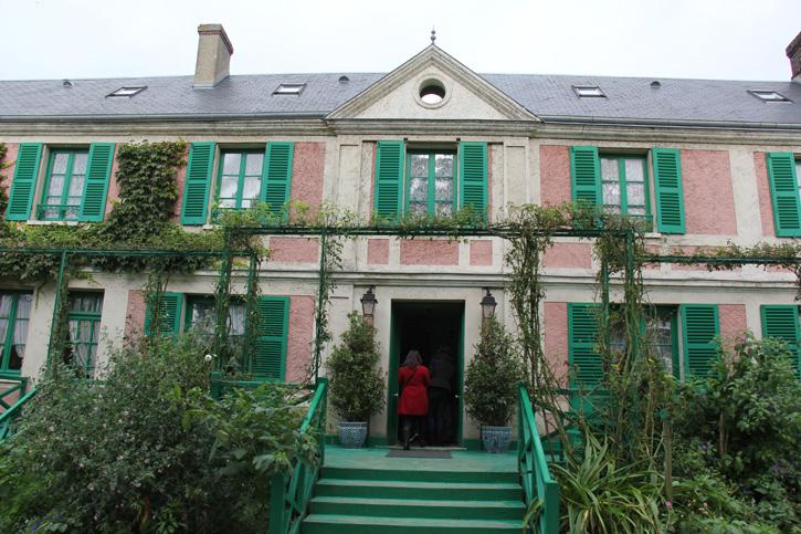 A casa de Claude Monet
