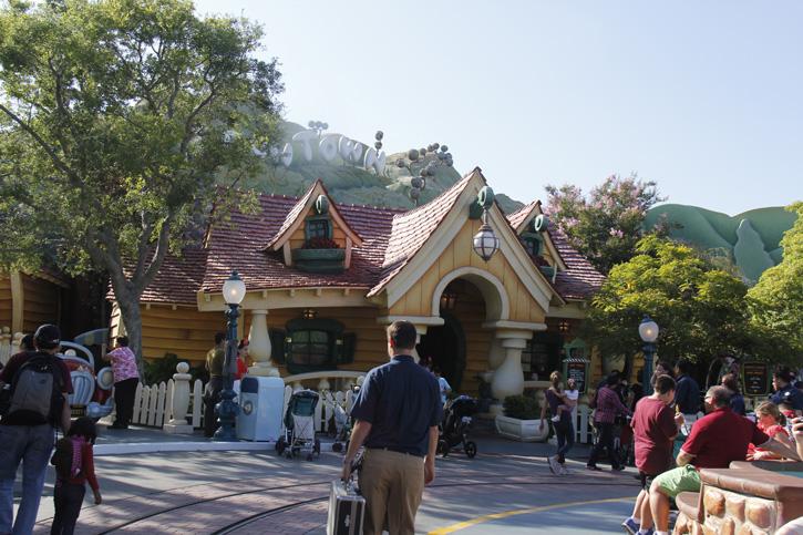 A casa do Mickey e da Minie