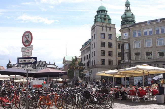Bicicletas em Copenhague