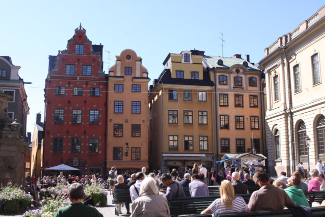 Stortorget (a grande praça), Gamla Stan, Estocolmo