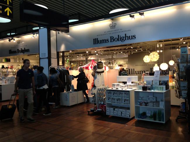 Tem uma loja da Illums Bolighus no aeroporto também: perdição pra quem gosta de design