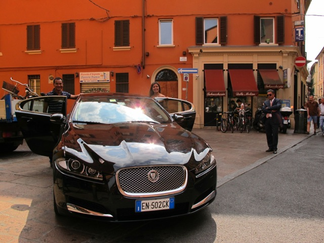Jaguar em Bolonha