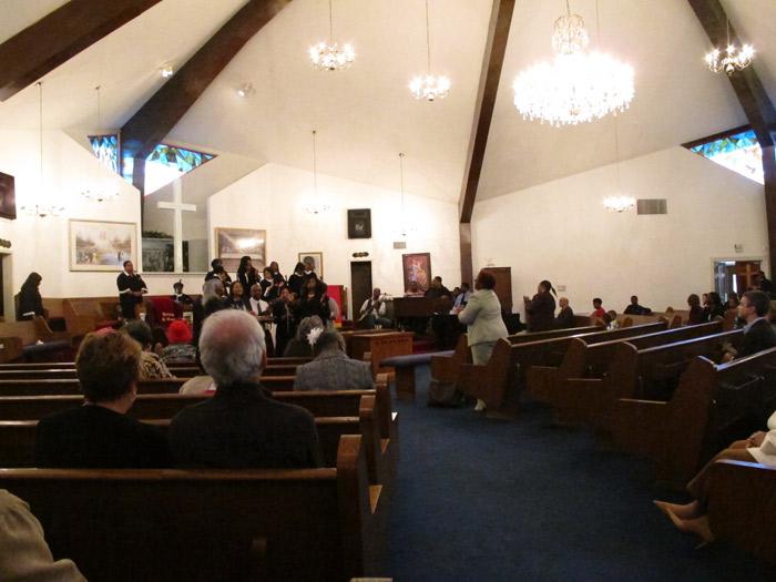 Missa gospel com o Bispo Al Green