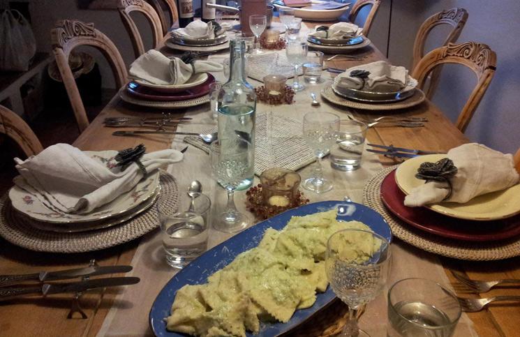 Culinária na Toscana