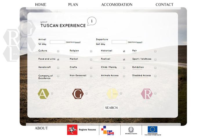 Clicando em Plan na tela anterior você chega nessa busca onde marca que tipo de experiências te interessam