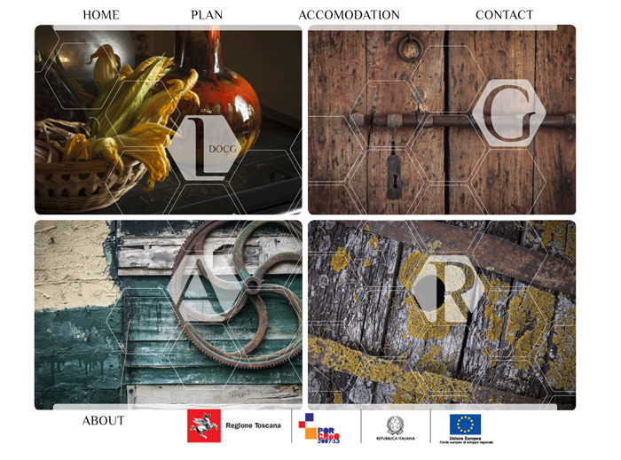 Home page do site MyTuscanExperience.com