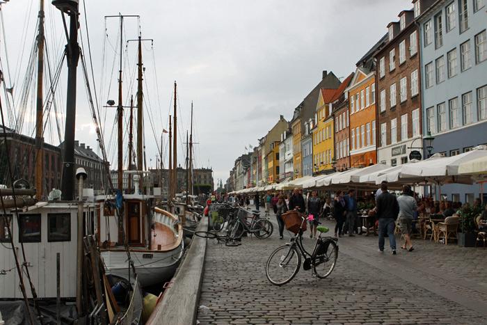 Nyhavn, um dos lugares mais famosos de Copenhague