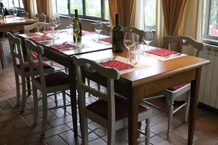 Restaurante Osteria del Castello em Gaiole in Chianti