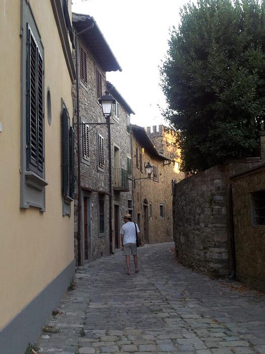 Passeando por Montefioralle