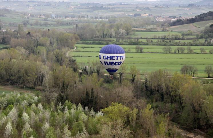 Itália: passeio de balão na Toscana